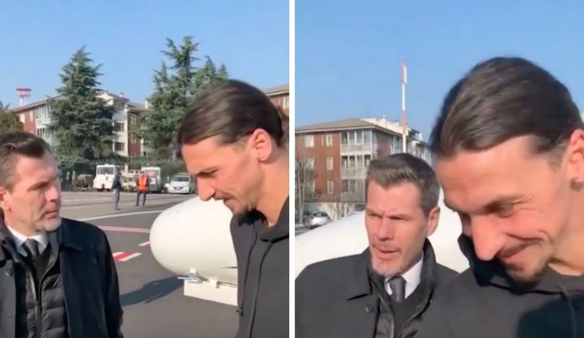 VIDEO: Boban welcomes Ibrahimovic to AC Milan in Croatian