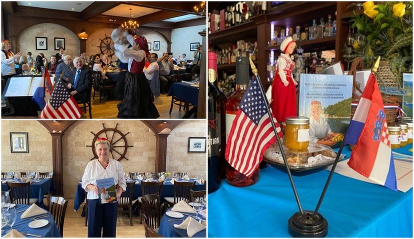 Dubrovnik Restaurant in New York hosts Croatian cultural charity event
