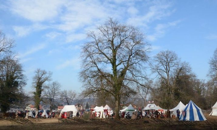 "Reenactment of ""1573 Peasant Revolt"" in Stubica on 8 Feb"