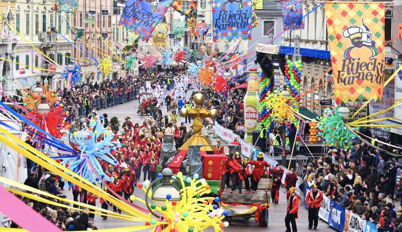 11,000 to take part in Croatia's biggest carnival in Rijeka on Sunday