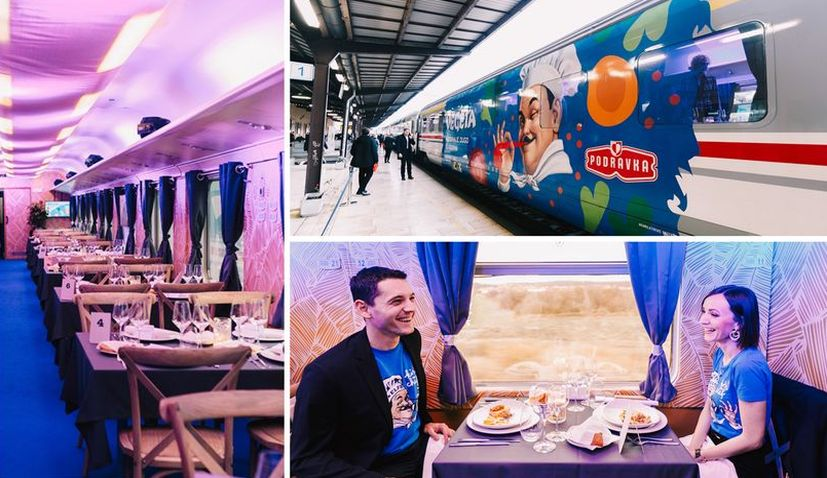 First passenger-train turned event restaurant in Croatia – a journey through 60-year-long Vegeta history