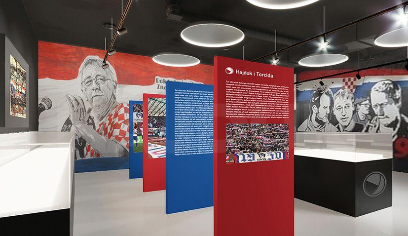 Impressive new museum at Split's Poljud stadium