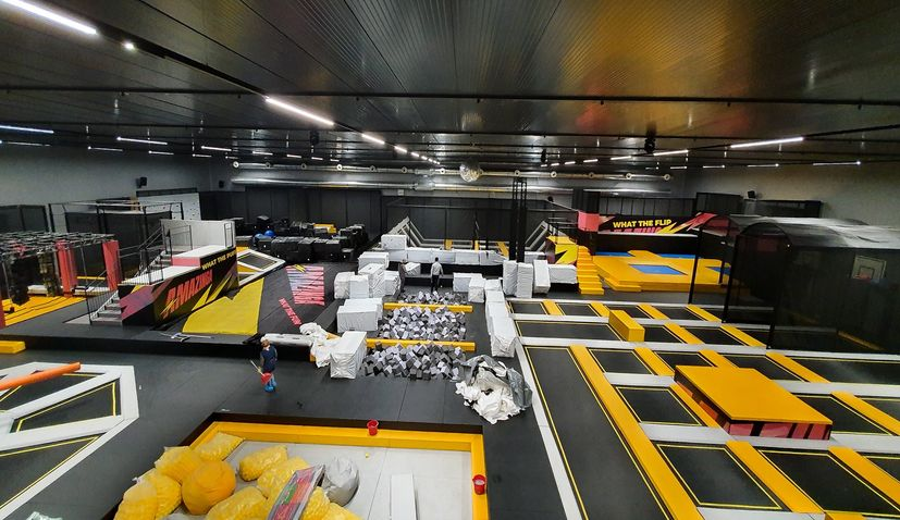 Biggest family entertainment centre and first trampoline park opens in Zagreb