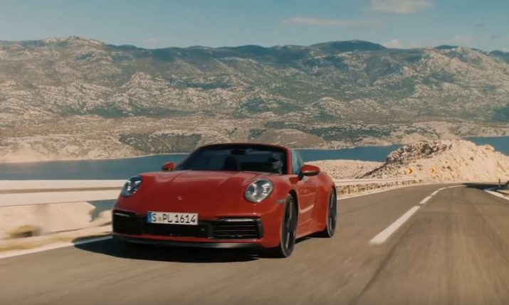 VIDEO: Porsche film impressive video in Croatia
