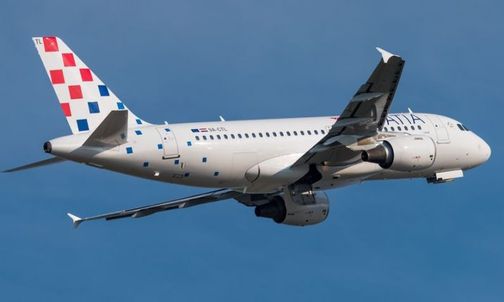 Croatia Airlines flying to Frankfurt, Brussels, Amsterdam and London