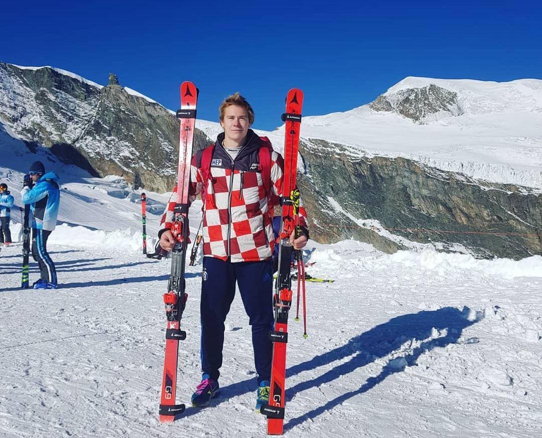 Filip Zubcic wygrywa slalom gigant