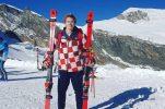 Croatia's Filip Zubčić finishes second in World Cup giant slalom in Adelboden, Switzerland