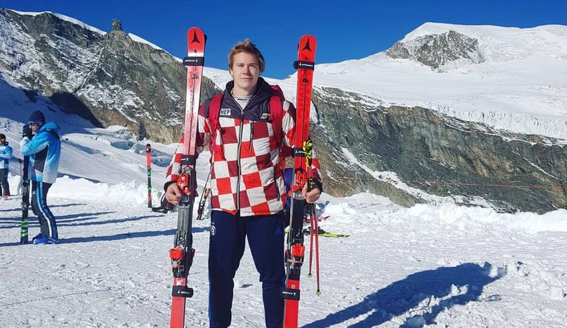 Croatia's Filip Zubcic again second in World Cup giant slalom race