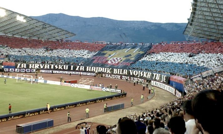 Hajduk Split football club celebrates 109th birthday