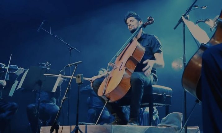 VIDEO: Luka Sulic does impressive cello version of Bohemian Rhapsody