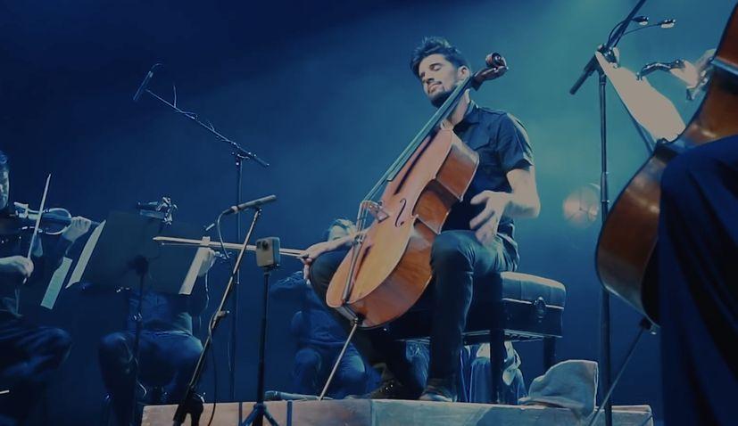 VIDEO: Luka Sulic does impressive cello version of Bohemian Rhapsody