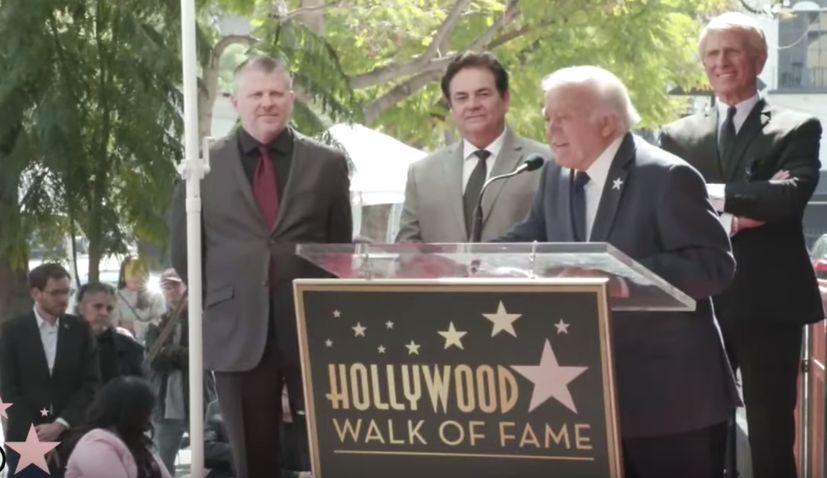 Croatian-American singer gets star on Hollywood Walk of Fame