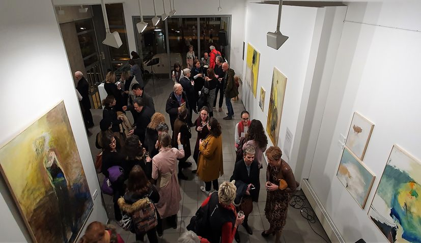 Prominent Croatian artist Vlado Kristl being celebrated in Paris