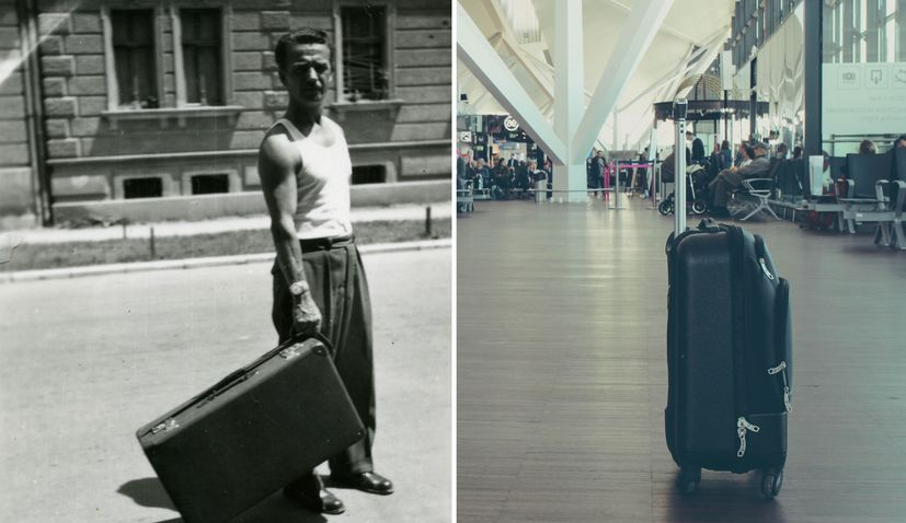 The Polish-Croatian who was first to invent the wheeled suitcase