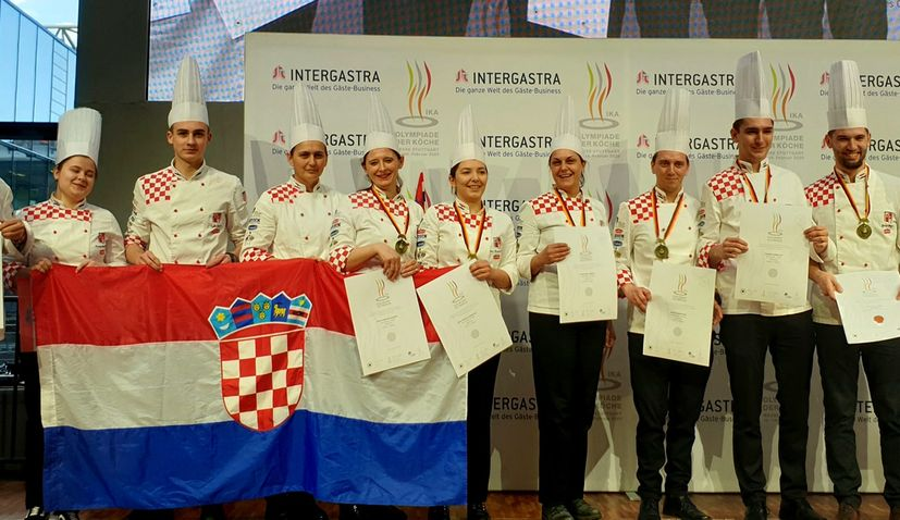 Croatia wins 12 medals at 2020 Culinary Olympics in Germany