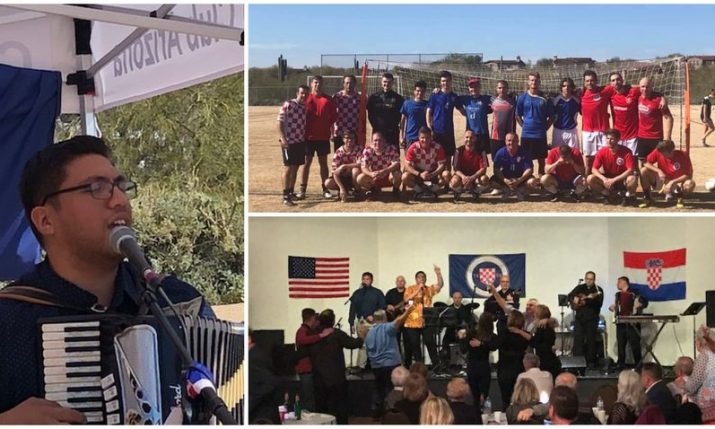 VIDEO: Croatians in Phoenix, Arizona celebrate annual football tournament