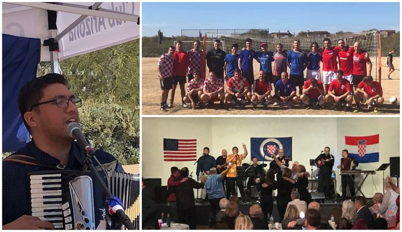 VIDEO: Croatians in Phoenix, Arizona celebrate annual football tournament