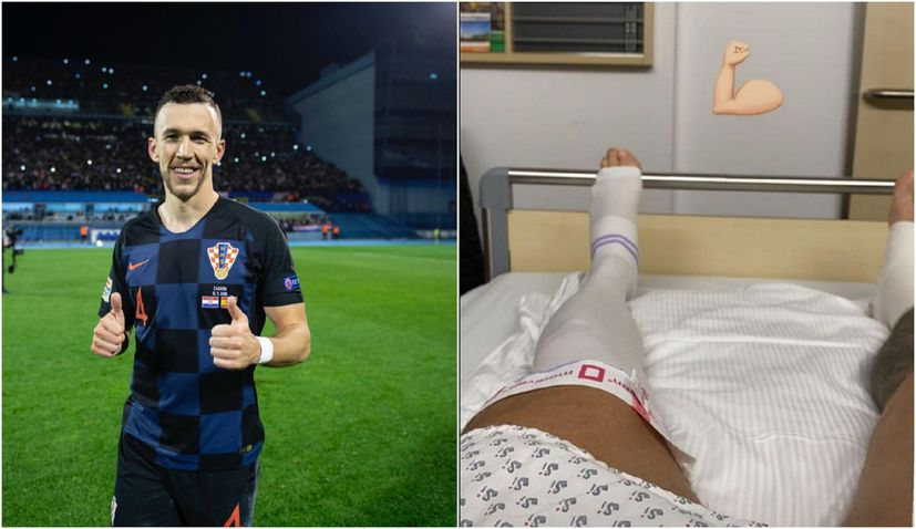 PHOTO: Ivan Perisic successfully operated on in Germany