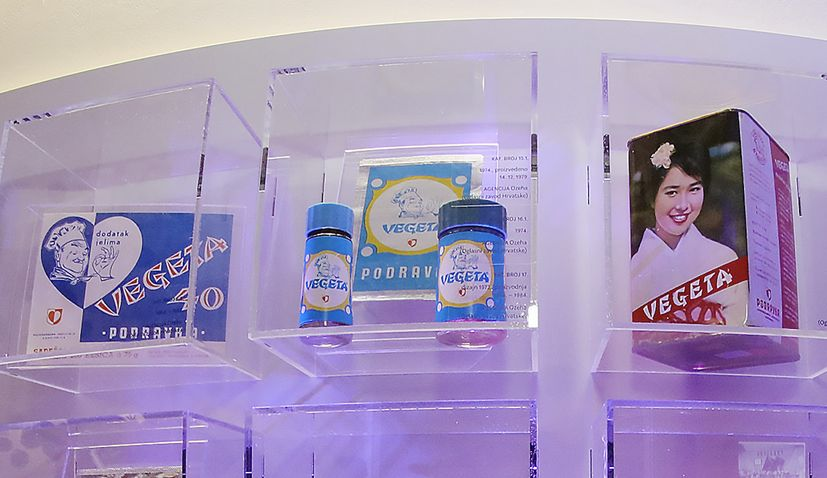 PHOTOS: History of Vegeta packaging design exhibition opens in Zagreb