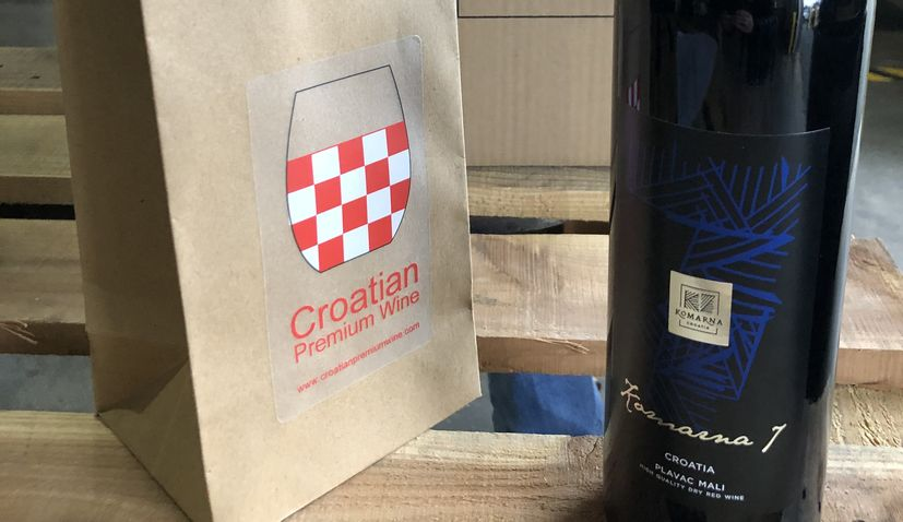 Croatian premium wine and Komarna Association create a JV Label for the USA