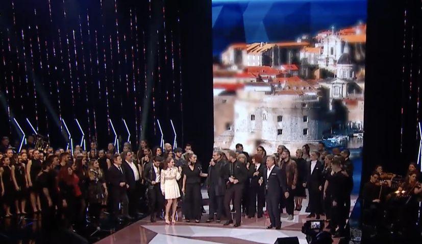 VIDEO: Remake of iconic hit 'Moja domovina' premieres