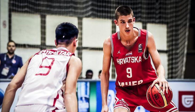 Croatian teen Boris Tišma set to be next big basketball star