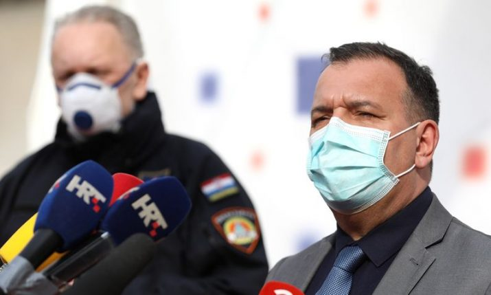 Croatia registering fewer COVID-19 infections, hospitalisations