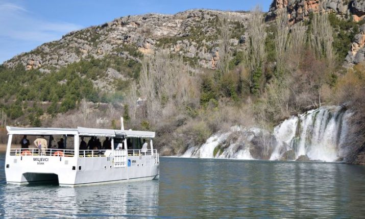 Krka National Park presents new electric catamarans