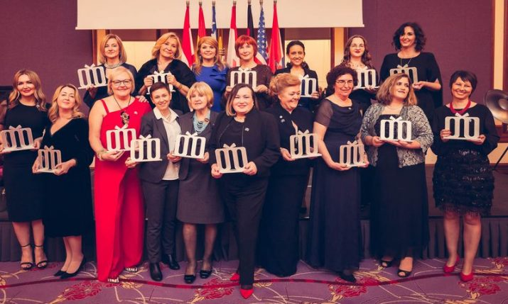 Croatian Women of Influence & Future Leader Awards presented
