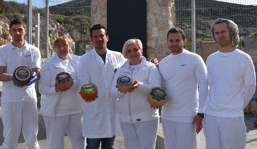 Croatia's Gligora wins at World Championship Cheese Contest in America
