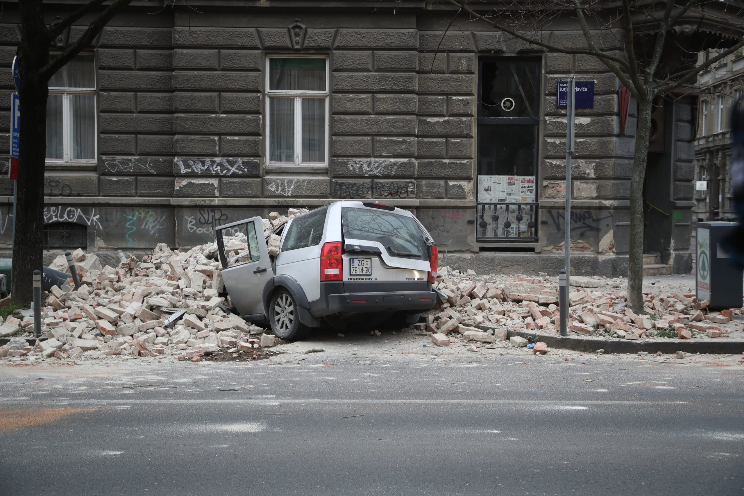 Magnitude 5.3 natural disaster strikes Croatia, damaging buildings