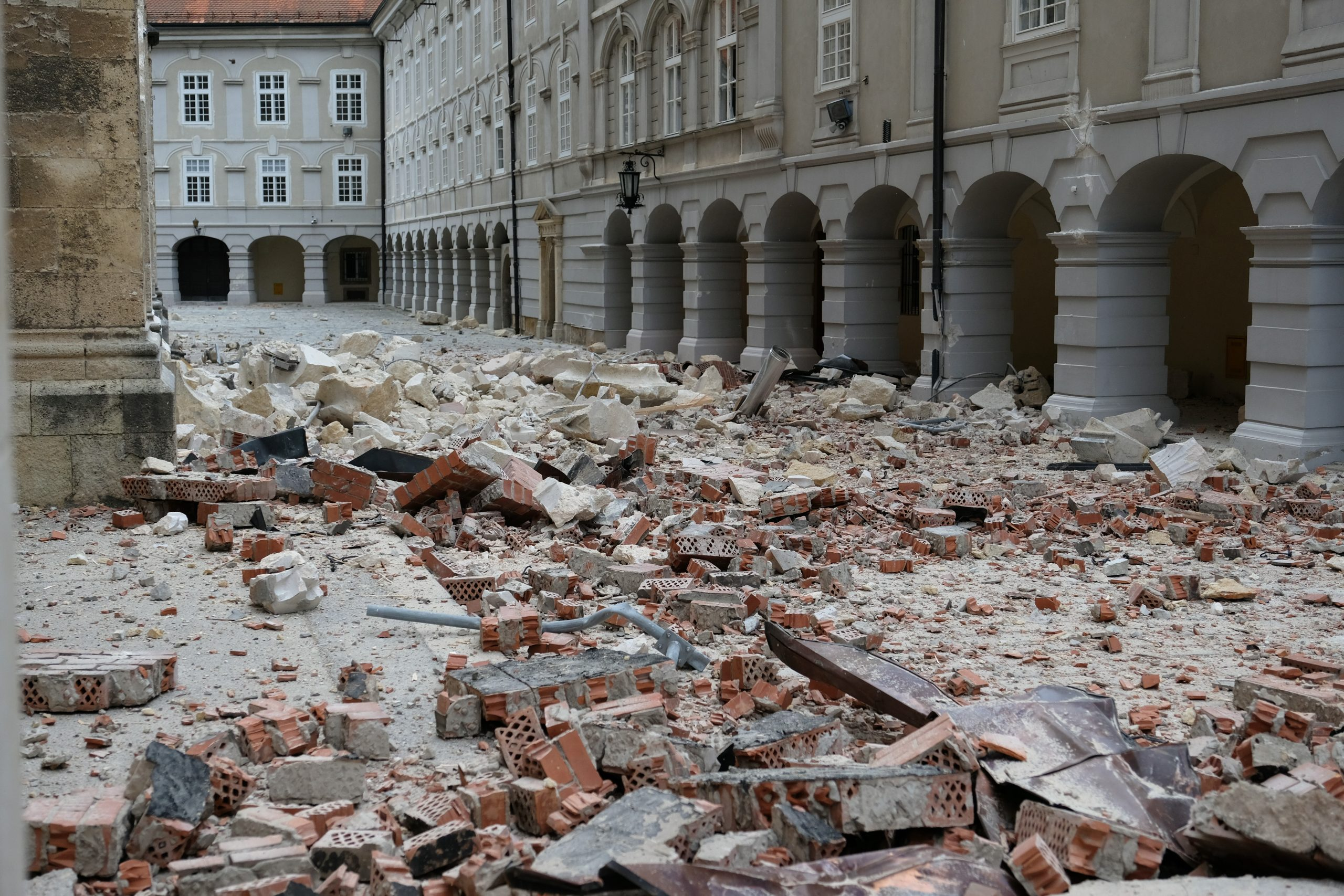 Croatia's Zagreb rocked by powerful quake