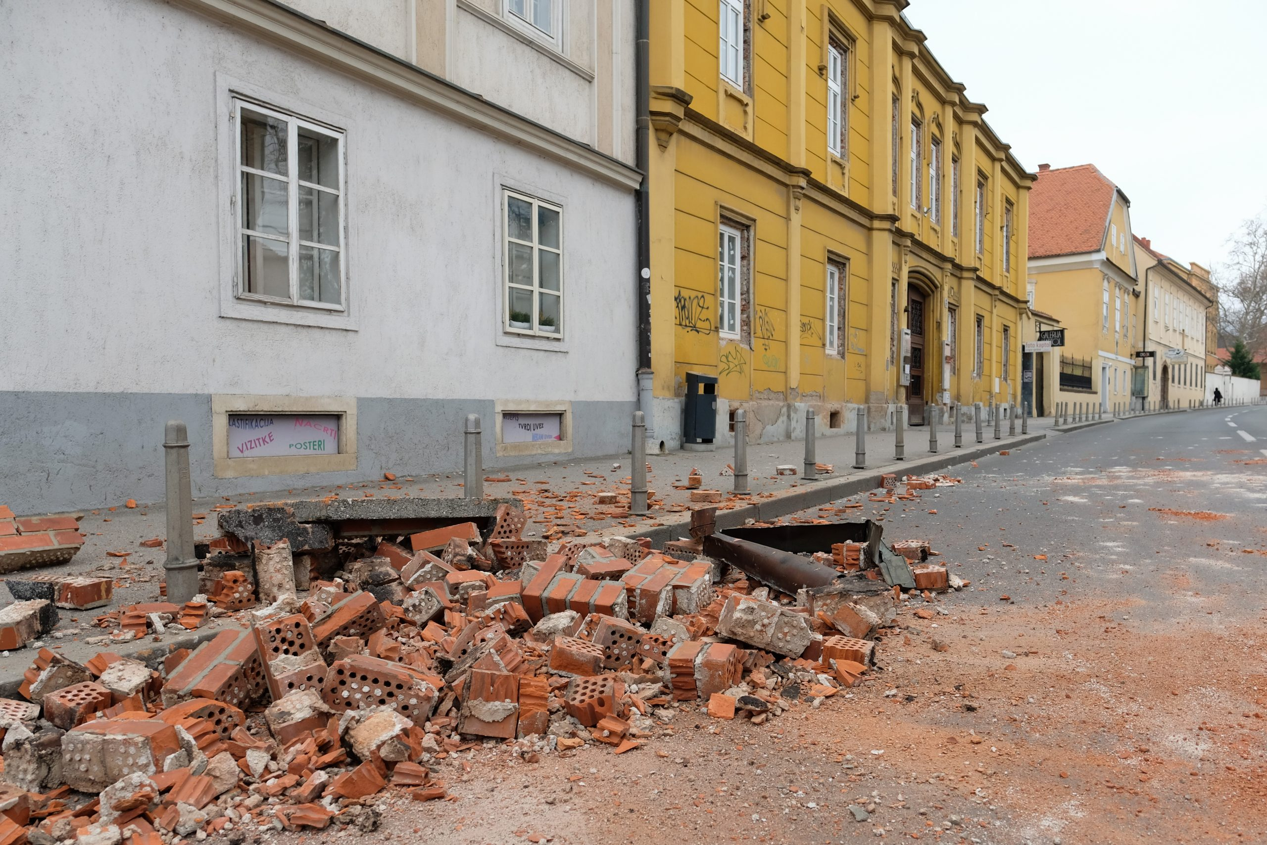 Widespread damage as quake strikes Croatia