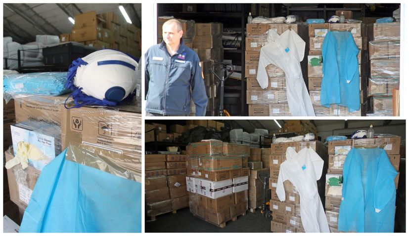 PHOTOS: Tonnes of protective equipment donated to Croatia arrives