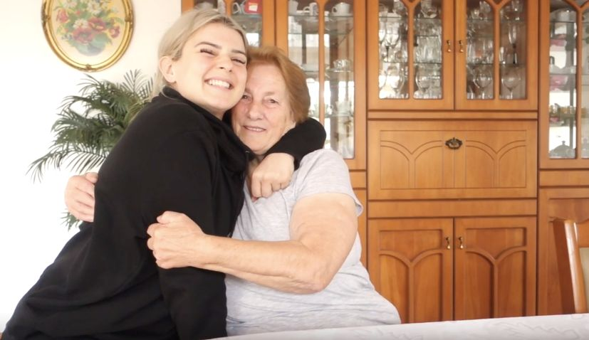 VIDEO: My grandma's story moving from Croatia to Australia