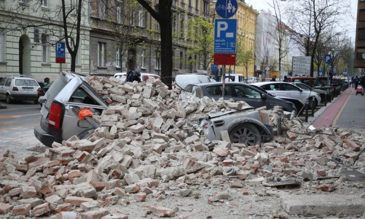 Croatian diaspora launch crowdfunding to help Zagreb after the earthquake