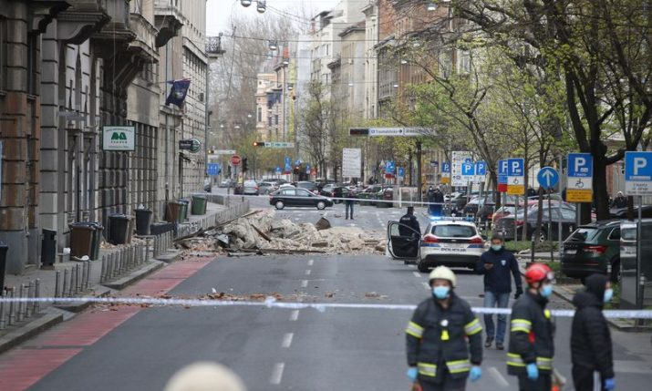 Croatia mobilising army to help quake-hit Zagreb