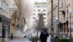 Potres U Zagrebu Rusenje Zida U Bogovicevoj Croatia Week