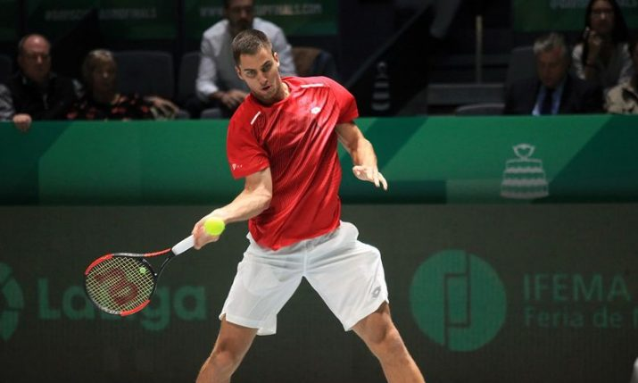Davis Cup: Croatia takes lead over India