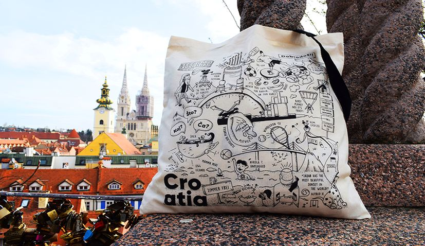 The Croatia bag: Croatia like Croatians know it