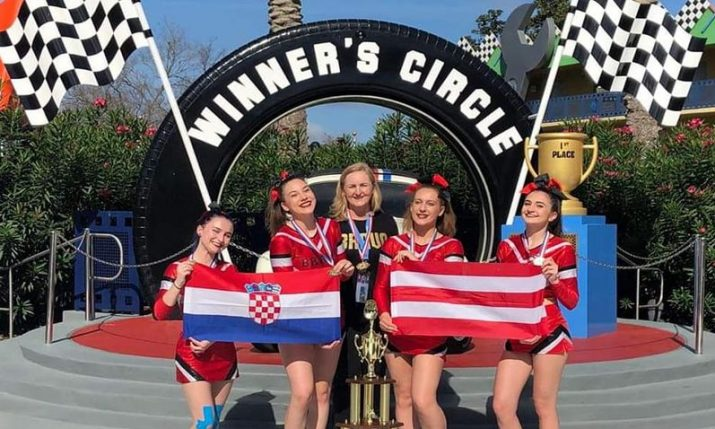 Croatian cheerleading club Bravo wins gold in Florida at World Cup