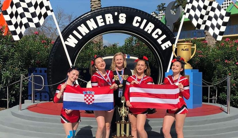 Croatian cheerleading club Bravo wins gold in Florida at World Cup