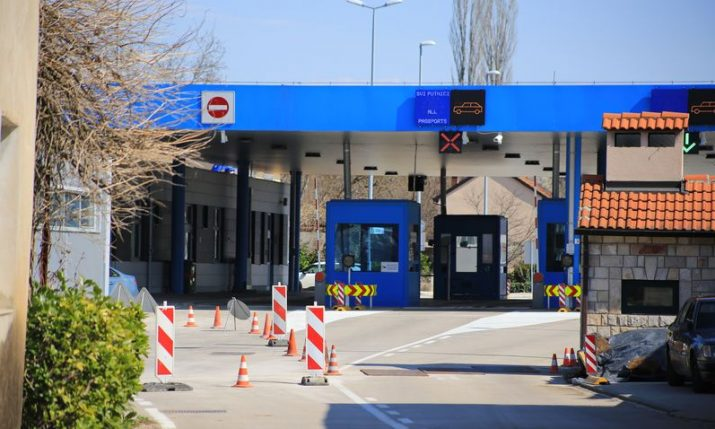 20 Croatia-Bosnia border crossings close on Thursday