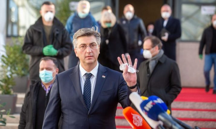 PM confirms 19 new coronavirus cases in Croatia, 254 in total