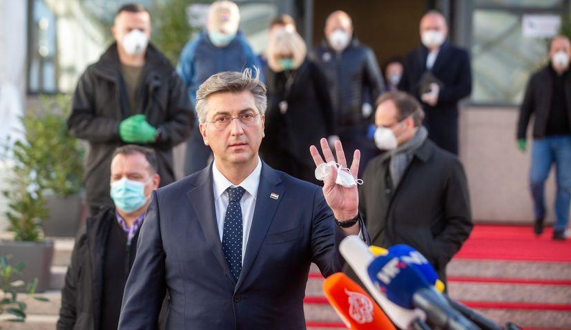 Croatia coronavirus lockdown