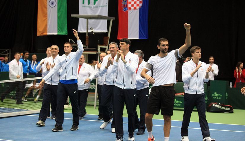 Davis Cup Finals: Croatia to face Australia and Hungary