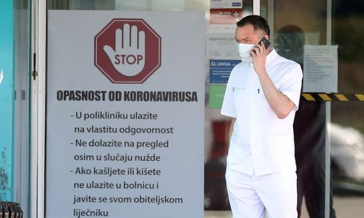 Croatia reports record number of COVID-related daily deaths