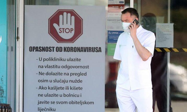 Croatia reports record-high new coronavirus cases, new restrictions start at midnight