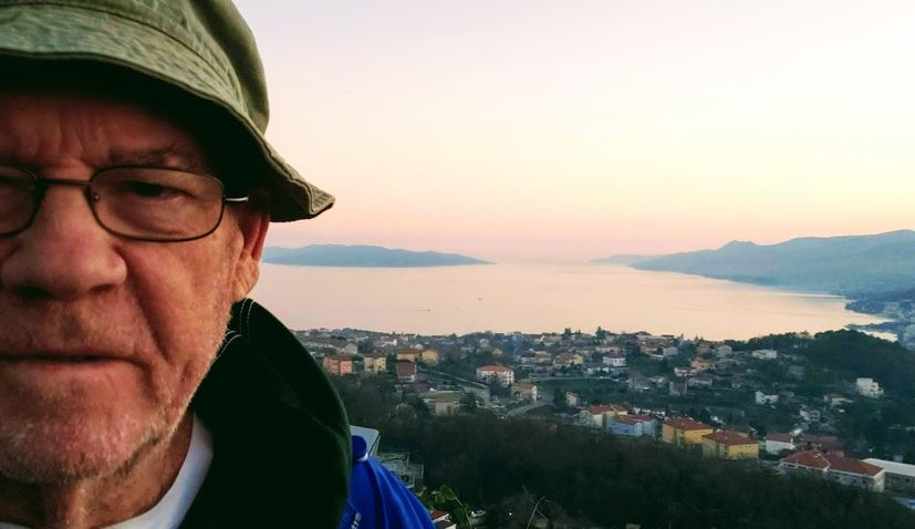 An American tourist happily stranded in Croatia during the coronavirus pandemic
