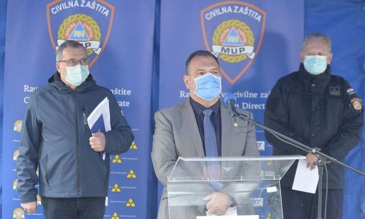 Croatia importing 250 ventilators, says health minister